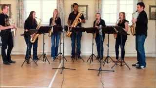 Amazing Grace – saxophone ensemble (septet)