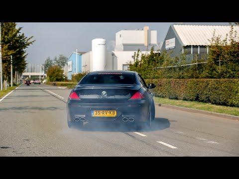 LOUD BMW M6 w/ Eisenmann Exhaust - Insane Drifts, Accelerations & Revs !