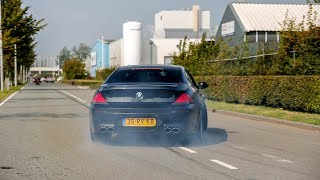 LOUD BMW M6 w/ Eisenmann Exhaust - Insane Drifts, Accelerations & Revs !