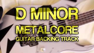 D Minor Metalcore Guitar Backing Track [ Drop D ]