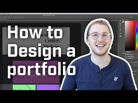 How to Design a Portfolio Site (Week 7 of 12)