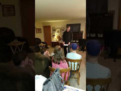 Eric Jensen Narrative Speech