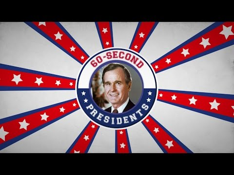 George H. W. Bush | 60-Second Presidents | PBS