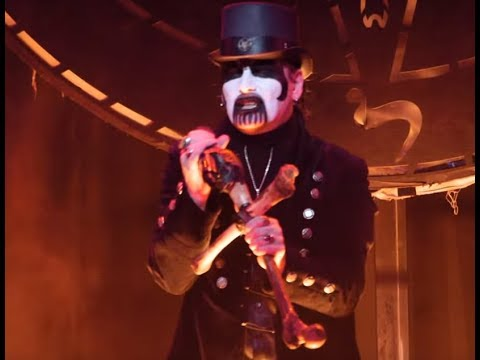 "King Diamond debuts ""Sleepless Nights"" live off new DVD ""Songs For The Dead Live""!"