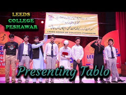 LEEDS Group of Colleges Peshawar Students Presents Tablo   Annual Gathering 2018