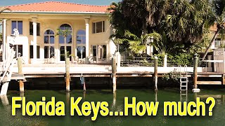 What do homes cost in the Florida Keys