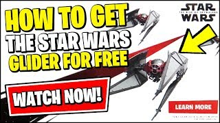 *NEW* HOW TO GET THE STAR WARS GLIDER FOR FREE (Fortnite STAR WARS Event)