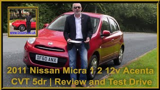 Should you Buy A 2011 Nissan Micra 1 2 12v Acenta CVT 5dr