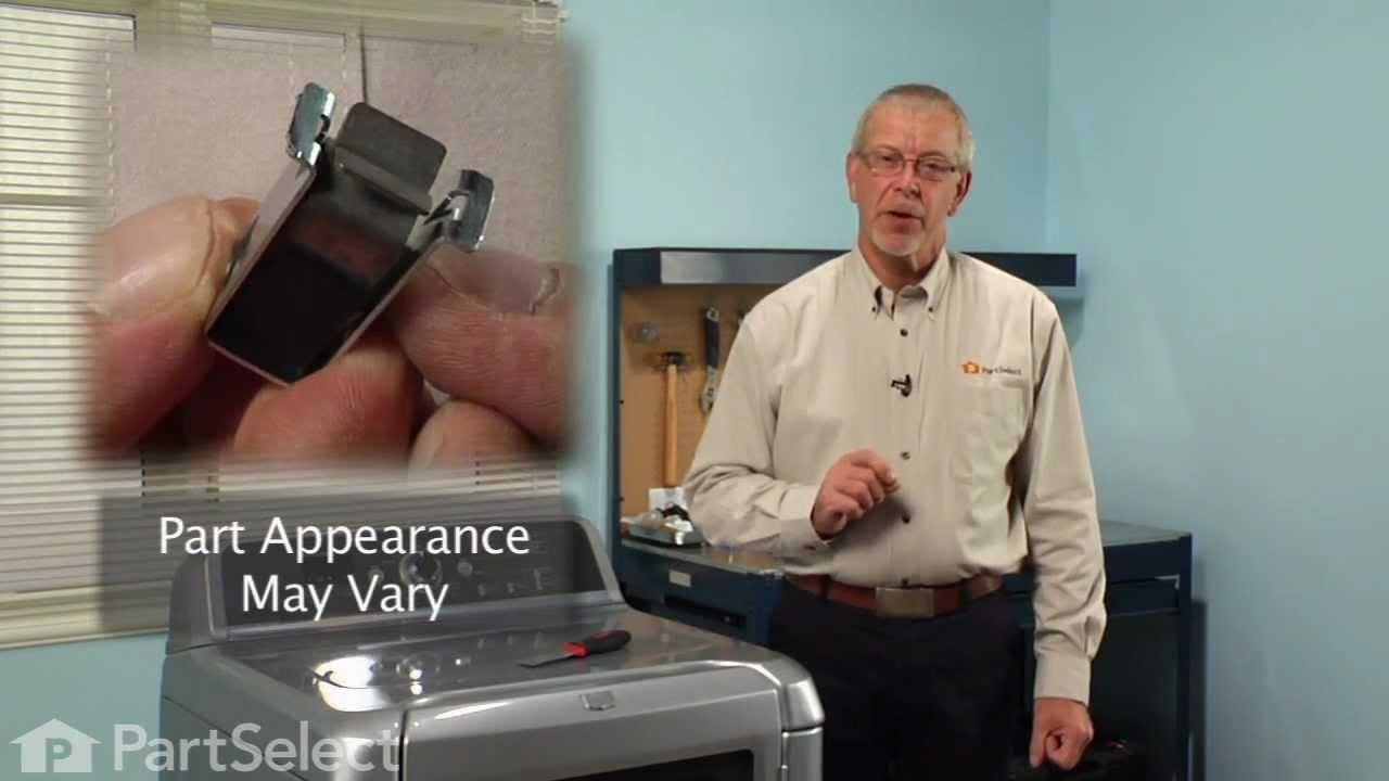 Dryer Repair Replacing The Door Catch Whirlpool Part
