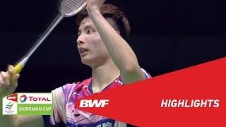 TOTAL BWF SUDIRMAN CUP 2019 | MS | CHINA VS MALAYSIA | BWF 2019