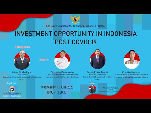 INVESTMENT OPPORTUNITY IN INDONESIA POST COVID-19