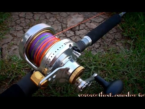 Angler Tackle : Fin-nor Marquesa MA12 + Alangka Jigways AJC582 ลุยปลาบ่อสกุณา