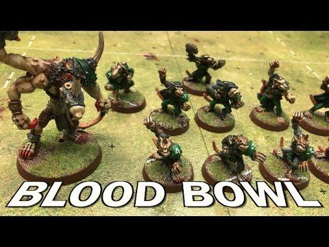 Throwback Thursdays Ep 100 - Blood Bowl - Lizardmen vs. Skaven