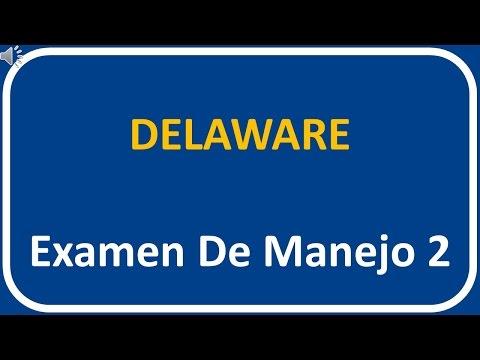 Examen De Manejo De Delaware 2