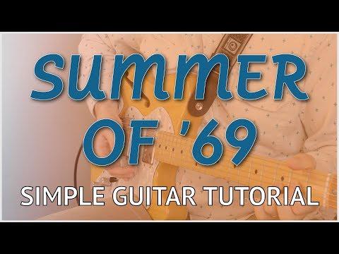 Summer of '69 - Easy Guitar Tutorial | Bryan Adams - Chords, Strumming, Picking & Riffs