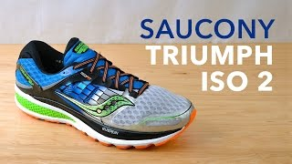Running Shoe Overview: Saucony Triumph ISO 2