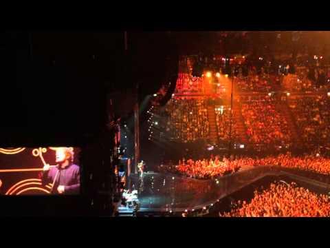 Rudimental ft. Ed sheeran - Lay It All On Me Live @ MTV EMAs 2015, Milan