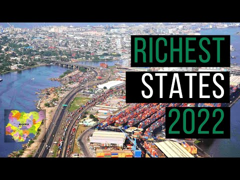 The 10 Richest States in Nigeria