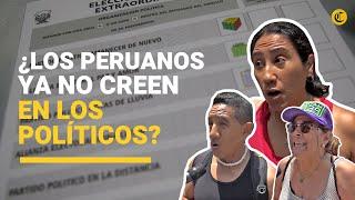 Elecciones 2020: ¿qué tan informados estamos de las propuestas? ¿ya saben por quién votar?