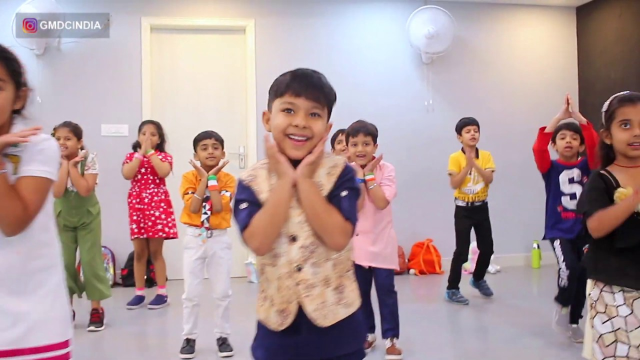 Download Independence Day Celebration   Cute little Kids   India Waale   G M Dance