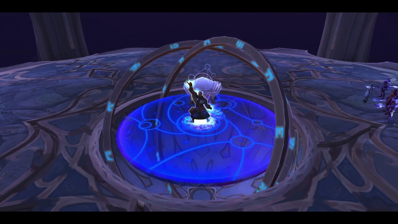 World of Warcraft The Eye of Aman'thul Legion Quest Guide