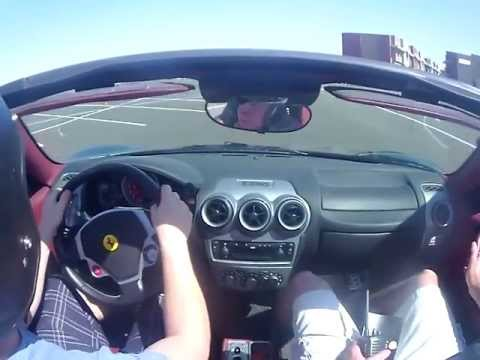Gotham dream car: F430 Ferrari crash nsfw