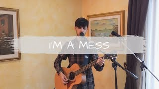 Ed Sheeran - I'm A Mess [loop cover - Federico Madeddu]