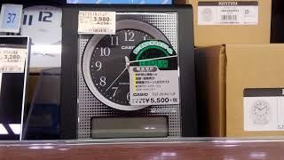 CASIO 電波目覚まし時計 TQT351NK-1FJ thumbnail