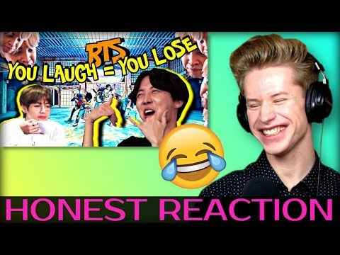 HONEST REACTION to BTS