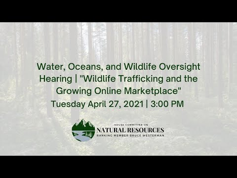 Water, Oceans, and Wildlife Oversight Hearing |
