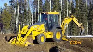 John Deere 310SG Tractor Backhoe.