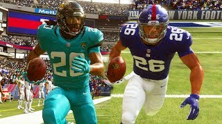 Madden 19 Career Mode Ep 2 - SAQUON BARKLEY GETS OUTPLAYED! - Daryus P