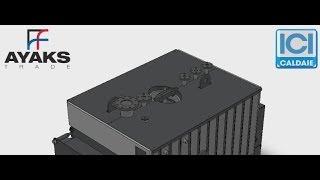ICI Caldaie SIXEN 2500, Ичи Калдае Сиксен 2500(Генератор пара с дымовыми трубами SIXEN 2500 моноблочного типа с автоматическим функционированием в комплекте..., 2014-04-24T12:11:06.000Z)