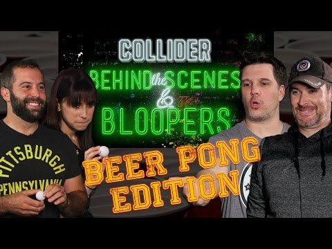 Beer Pong: Perri/Macuga vs. Kristian/Ken - Collider Behind The Scenes & Bloopers