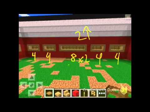 Minecraft PE: How To Make A Barn! - YouTube