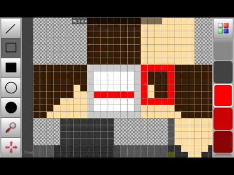 обзор программ для андроид (1) pixel art редактор