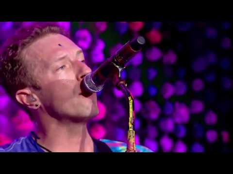 Every teardrop is a waterfall Coldplay HD (LIVE Glastonbury 2016)