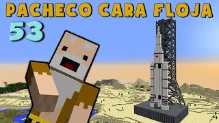Pacheco cara Floja 53 | COMO HACER UN COHETE en Minecraft