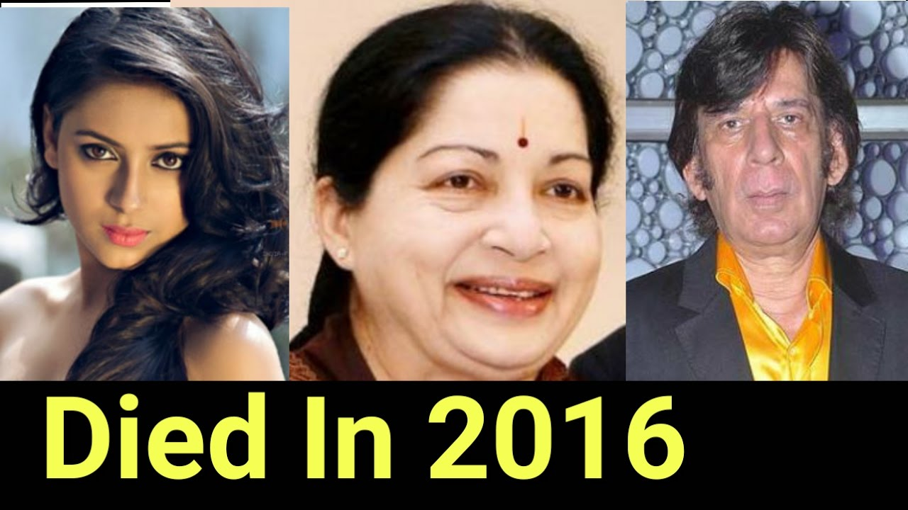 List of Famous Indian Celebrities Died in 2017-2019 ...