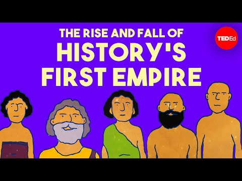 Video image: The rise and fall of history's first empire - Soraya Field Fiorio