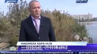 Захват и застройка побережья Каспийского моря Дагестан