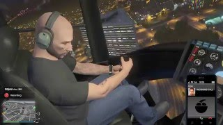 humor encouraging your bro to fly for first time in gta online