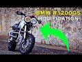 BMW R1200GS Modified Ton-Up Garage || OTOMODIEF TV