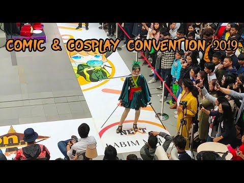Comic and Cosplay Convention Nepal 2019 | Vlog |