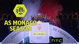 Look back on how AS Monaco won the league : Week 31 / 2016-17