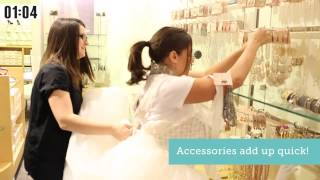 The Budget Savvy Bride Steals the Deal from David's! | David's Bridal
