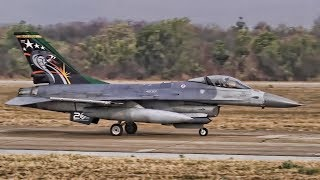 USAF F-16 Squadron Goes To Thailand • Cobra Gold 2019