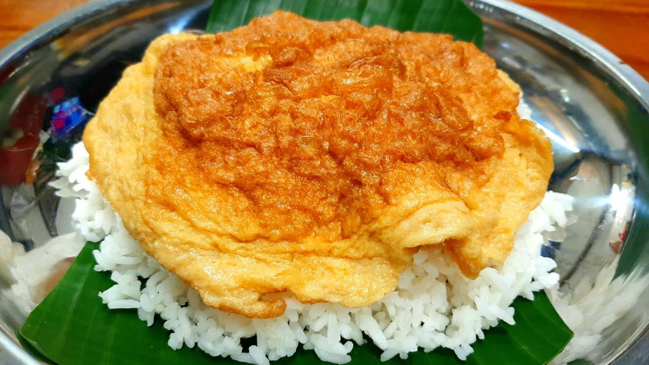 #ข้าวไข่เจียว เทคนิคการทอดไข่ให้อร่อย หอมนุ่ม ไม่อมน้ำมัน ไข่ไม่ติดกระทะ