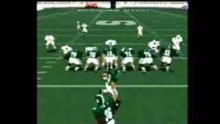 NCAA Football 2000 PlayStation Gameplay_1999_05_27