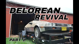 DeLorean Barn Find Revival - Part 1